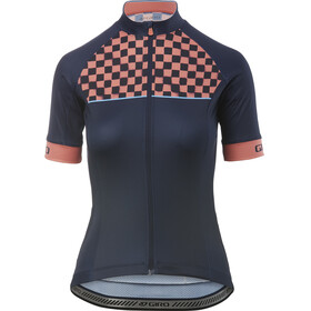 Giro Chrono Sport Kortärmad cykeltröja Dam pink/blå